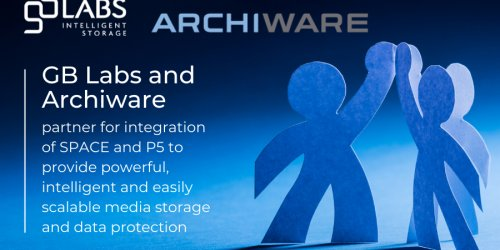 GB Labs and Archiware partner for integration of SPACE and P5 to provide powerful, intelligent…