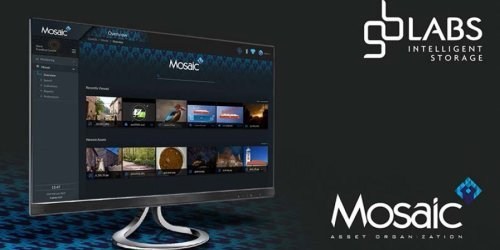 GB Labs Launches Mosaic Asset Organisation Software at NAB Show 2019.